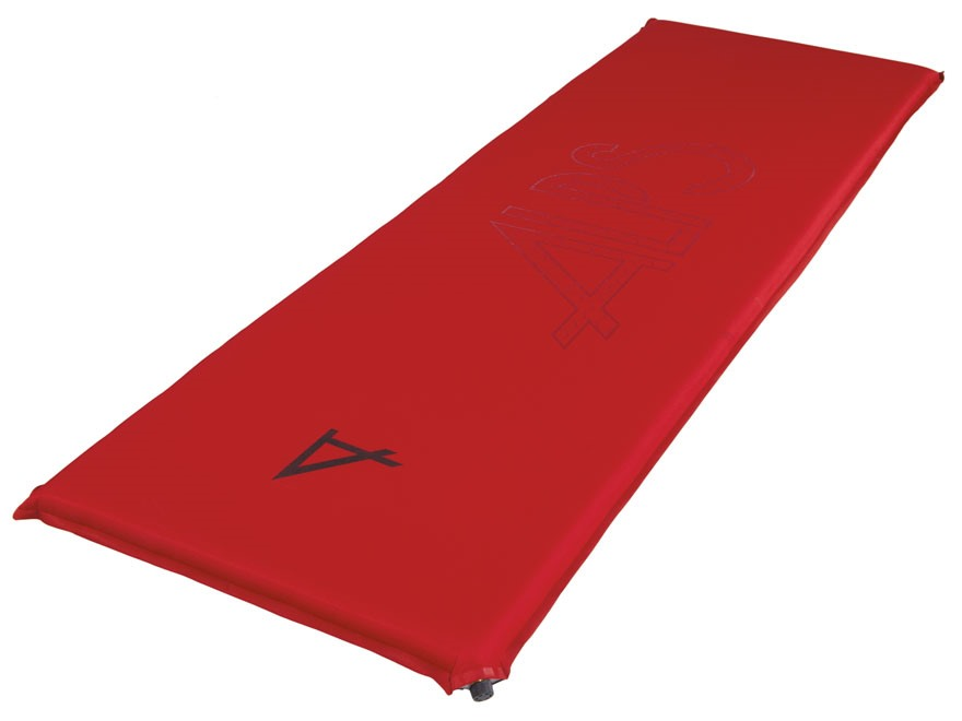 ALPS Mountaineering Traction Series Inflatable Long Air Mattress Nylon and Polyester Ri...