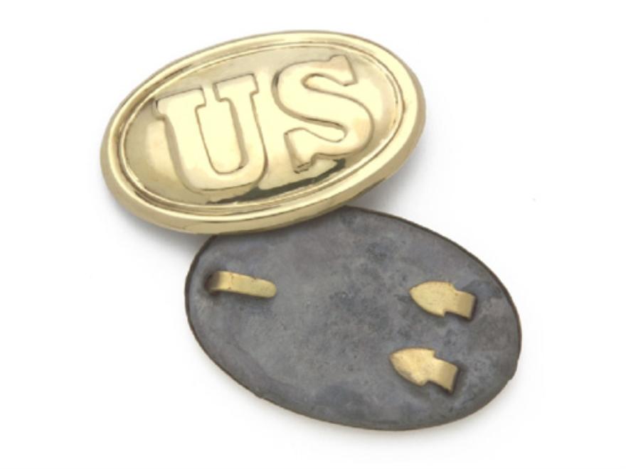 "Collector's Armoury Replica Civil War Union ""US"" Belt Buckle Brass"