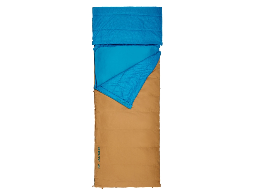 Kelty Revival 40 Degree Sleeping Bag Regular Cotton and Polyester