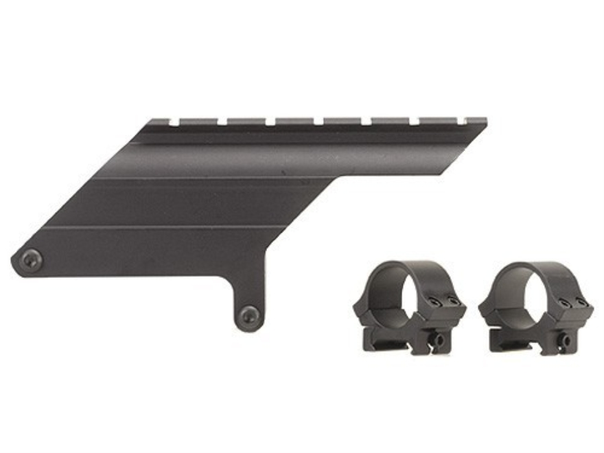 "B-Square Shotgun Saddle Mount with 1"" Rings Remington 1100 Semi-Auto 20 Gauge Matte"