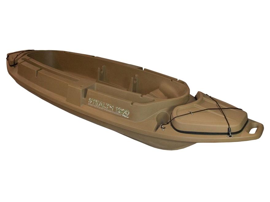 Beavertail Stealth 1200 12' Sneak Boat Marsh Brown