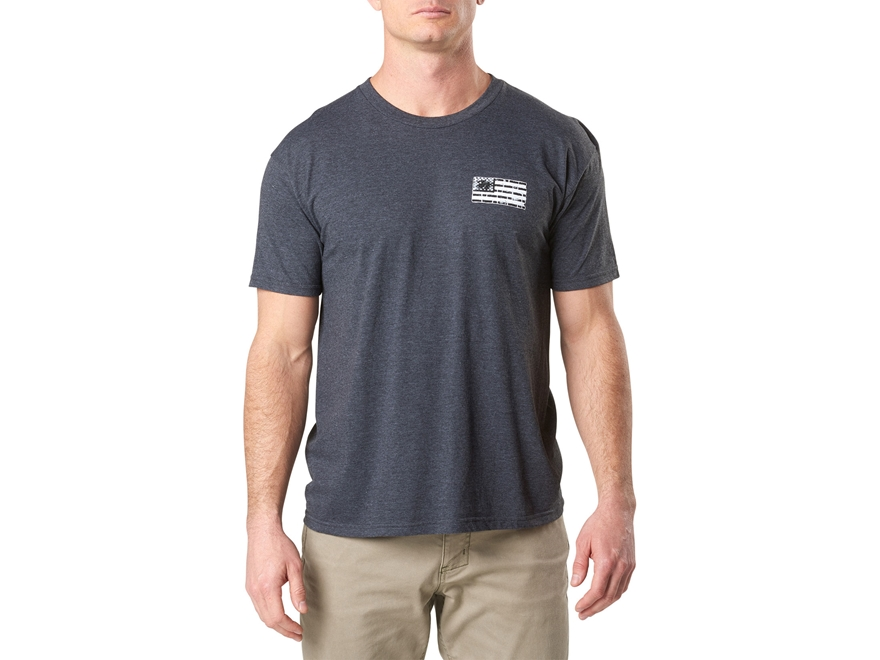 5.11 Men's Brick and Mortar T Shirt Short Sleeve Polyester/Cotton Blend