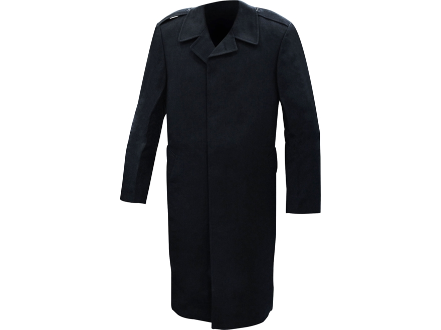 Military Surplus All-Weather Overcoat Single Breasted