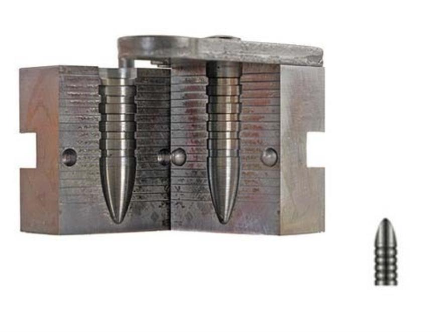 Lyman 1-Cavity Bullet Mold #410678 40 Caliber (406-410 Diameter) 395 Grain Pointed Tip