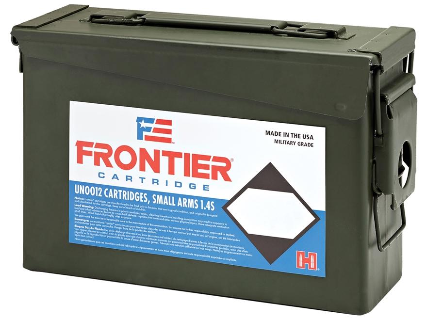 Frontier Cartridge Military Grade Ammunition 5.56x45mm NATO 62 Grain Hornady Full Metal...