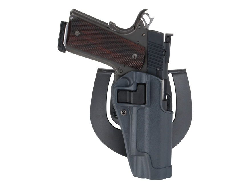 BLACKHAWK! Serpa Sportster Paddle Holster 1911 Government Polymer Gun Metal Gray