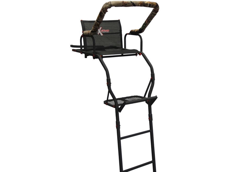 X-Stands The Lookout 17' Single Ladder Treestand Steel