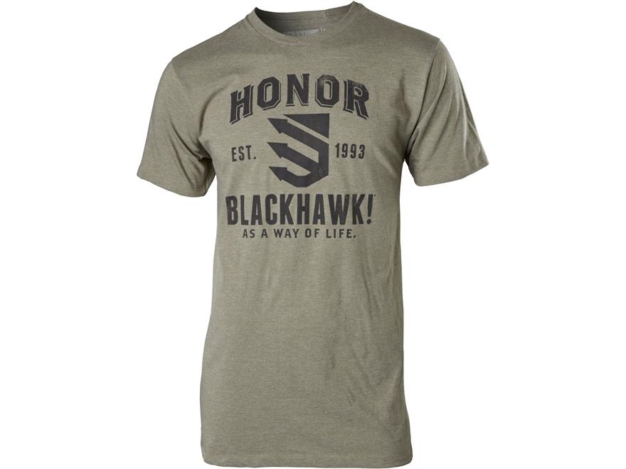 BLACKHAWK! Men's Honor T-Shirt Short Sleeve Cotton/Poly