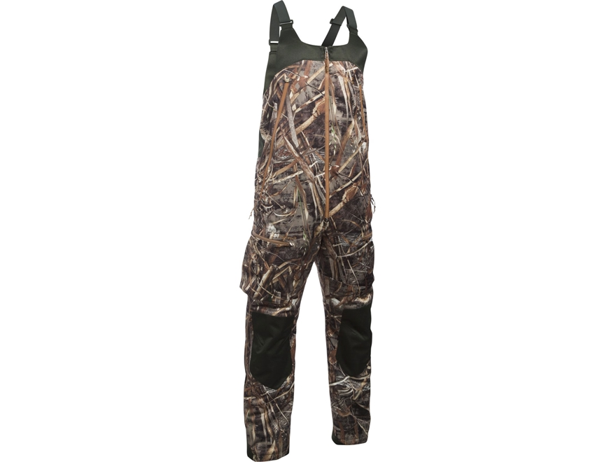 Under Armour Men's UA Skysweeper Insulated Waterproof Bibs Polyester Realtree Max-5 Camo