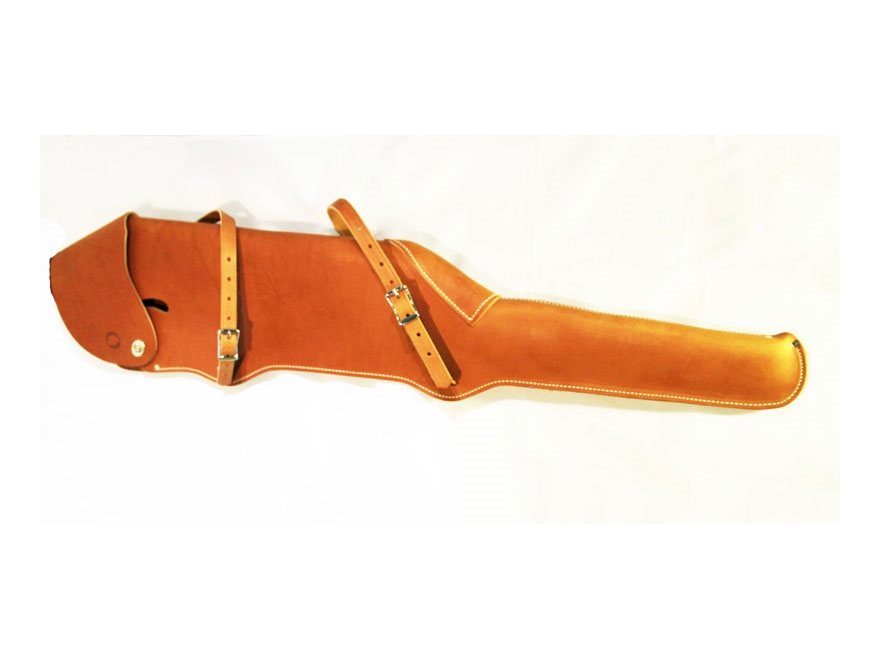 "Montana Sling Scoped 26"" Rifle Scabbard Leather"
