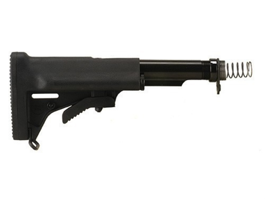 Choate Stock Assembly 5-Position Collapsible AR-15 Carbine Synthetic Black