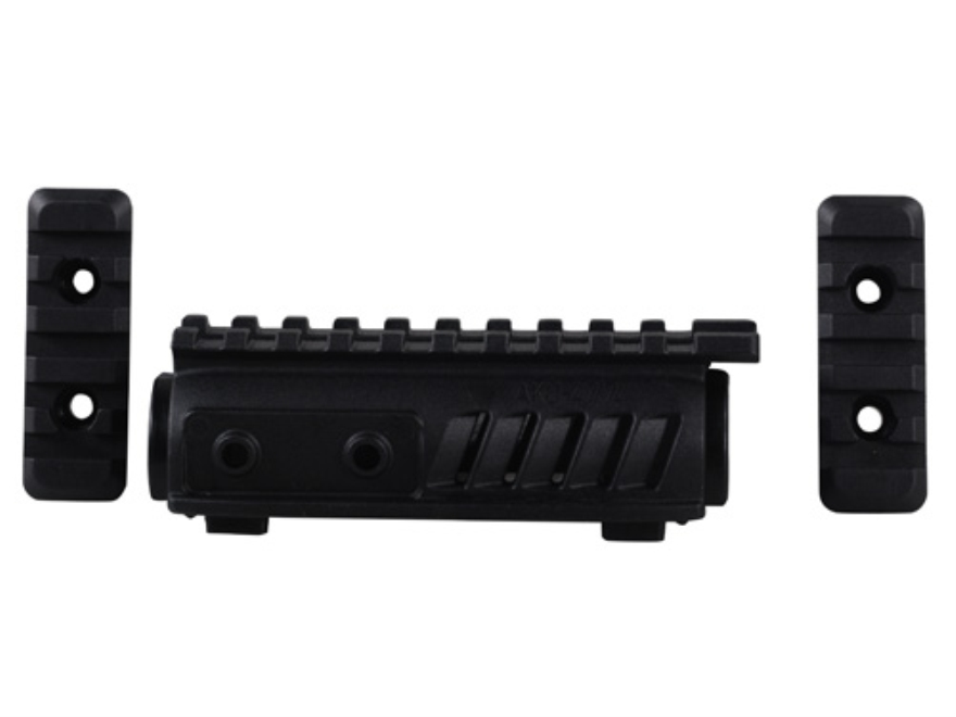 FAB Defense Upper Handguard with Picatinny Rail AK-47 Polymer Black