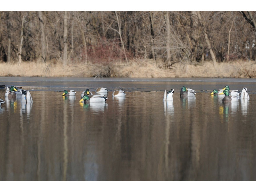 GHG Pro-Grade January Mallard Harvester Pack Duck Decoy Pack of 12