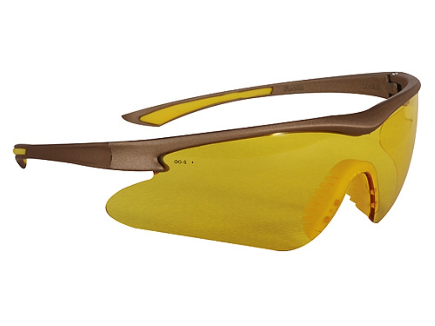 Winchester 270 Shooting Glasses Olive Frame Yellow Lens