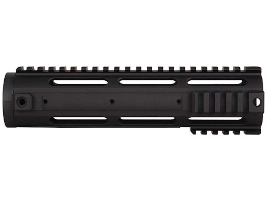 Yankee Hill Machine Free Float Tube Handguard Smooth/Quad Rail AR-15 Aluminum Matte Black
