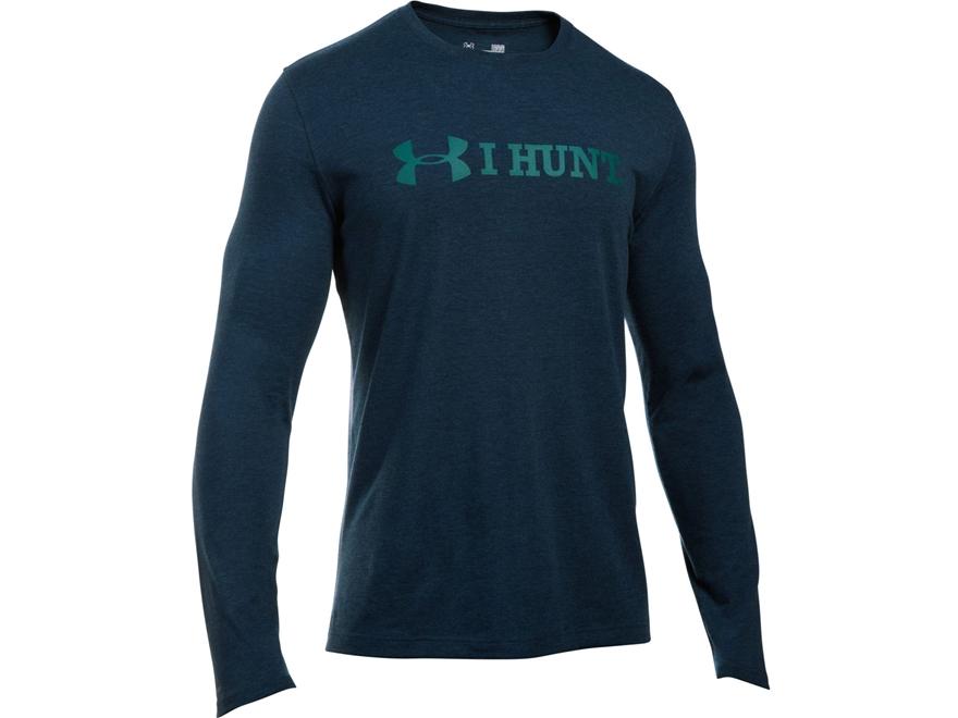 Under Armour Men's UA I Hunt T-Shirt Long Sleeve Poly/Cotton Blend