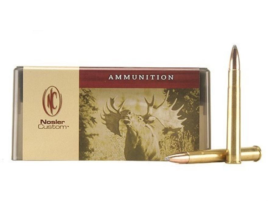 Nosler Custom Ammunition 9.3x74mm Rimmed 286 Grain Partition Spitzer Box of 20