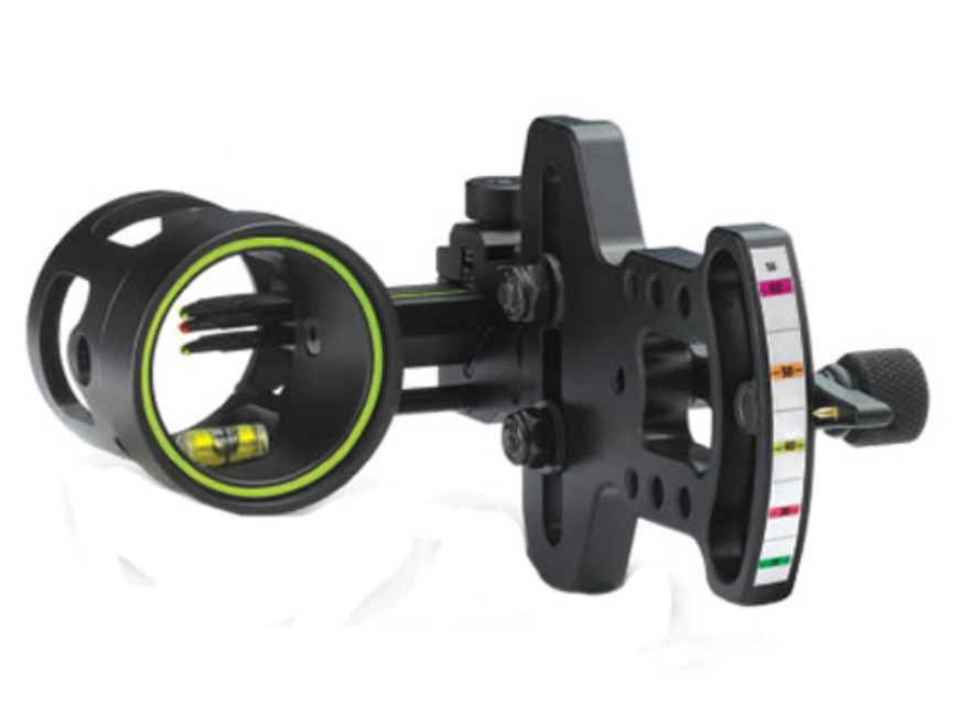 "HHA Optimizer FX OLFX-3519 3-Pin Bow Sight .019"" Pin Diameter Right Hand Aluminum Black"