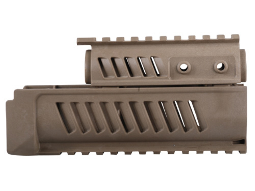 FAB Defense Handguard with Picatinny Rails AK-47 Polymer