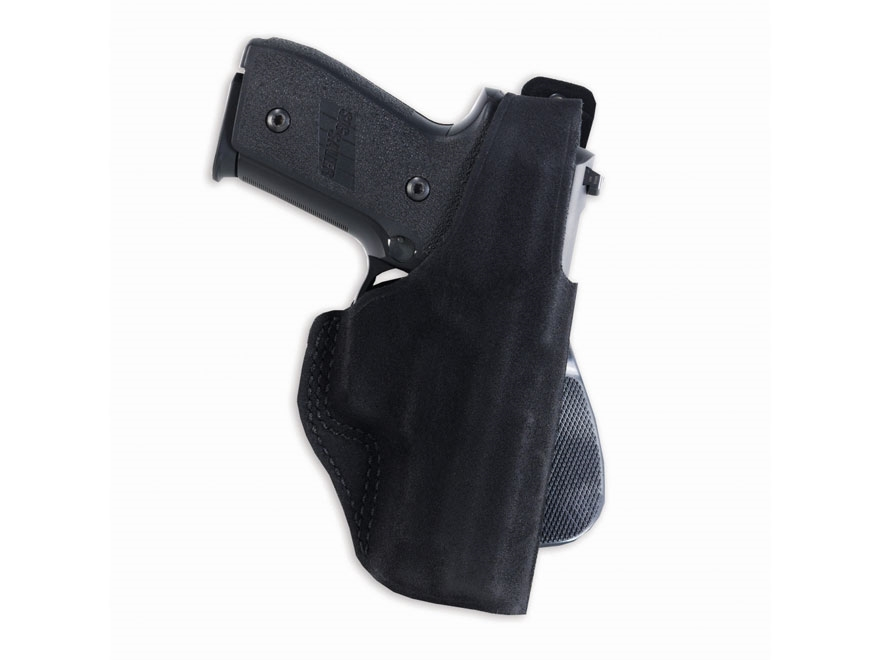 Galco Paddle Lite Holster Right Hand Glock 29, 30, 30S Leather Black