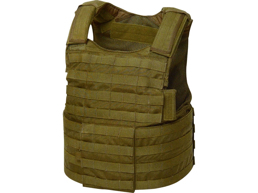 Military Surplus CIRAS Body Armor Carrier Grade 1 Large Khaki