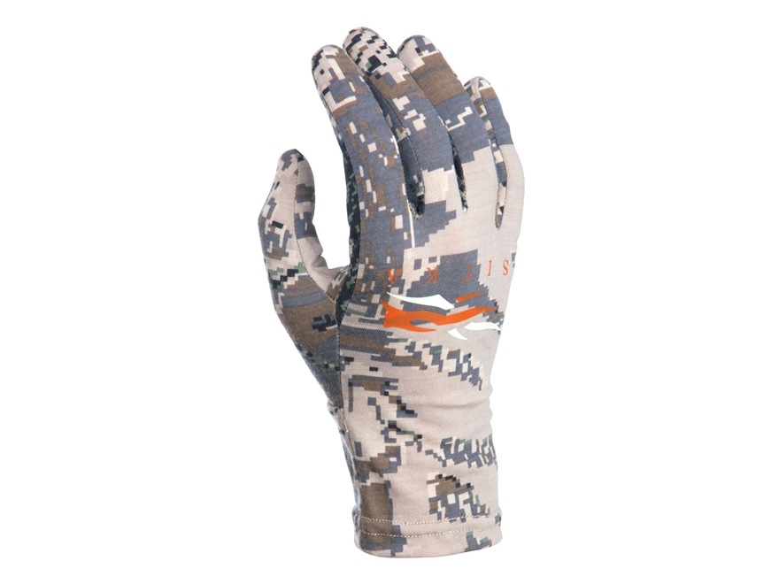 Sitka Gear Merino Gloves Wool Gore Optifade Open Country Camo Medium