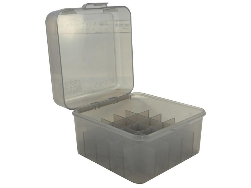 "MTM Flip-Top Shotshell Box 10, 12 Gauge 2-3/4"", 3"", 3-1/2"" 25-Round Plastic"