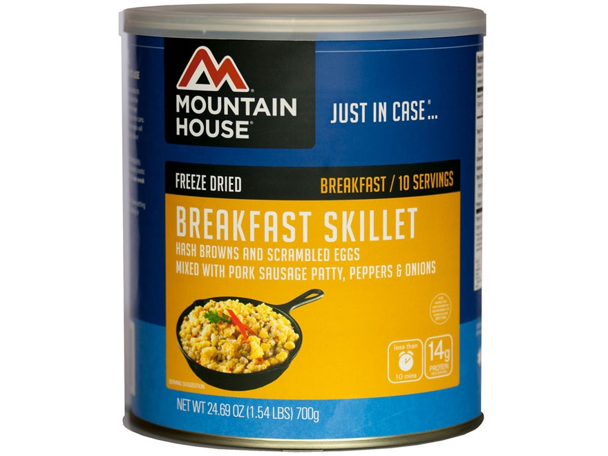 Mountain House 10 Serving Breakfast Skillet Freeze Dried Food #10 Can