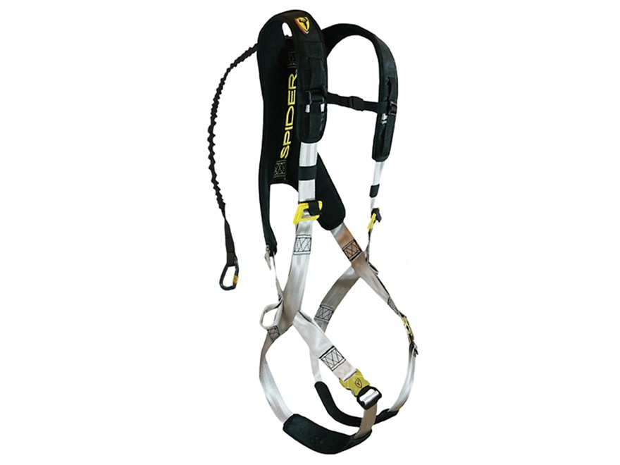 841099 tree spider speed treestand safety harness nylon black mpn tssh20 live wire safety harness hunting at alyssarenee.co