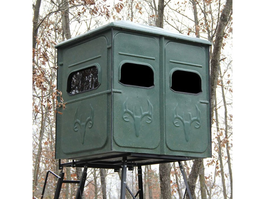 Redneck Blinds The Shooter Elevated Box Blind