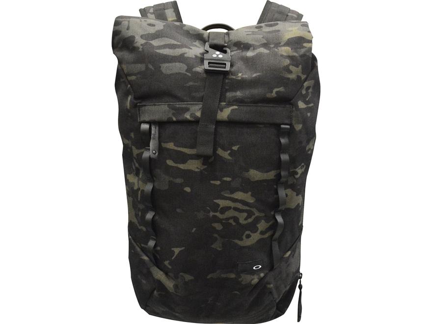 Oakley Voyage Roll-Top MC Backpack Nylon Black Multicam