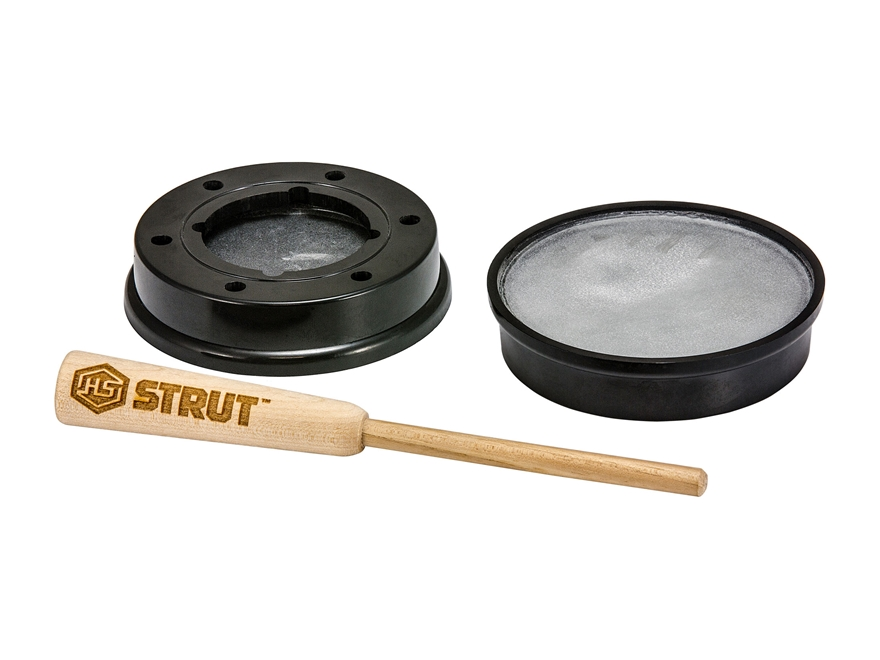 H.S. Strut Double Dead Pot Turkey Call Plastic