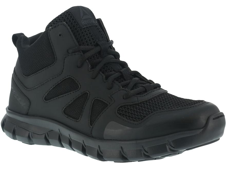 "Reebok Sublite Cushion Mid 5"" Tactical Shoes Leather/Nylon Men's"