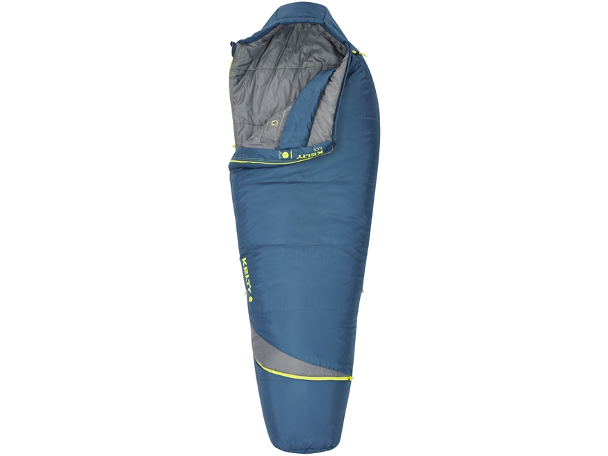 Kelty Tuck 20 Degree Mummy Sleeping Bag Polyester Dark Slate