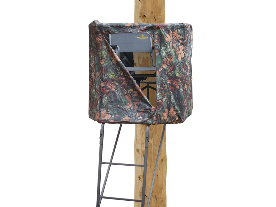 Rivers Edge Spin Shot Ladder Treestand Steel Gray