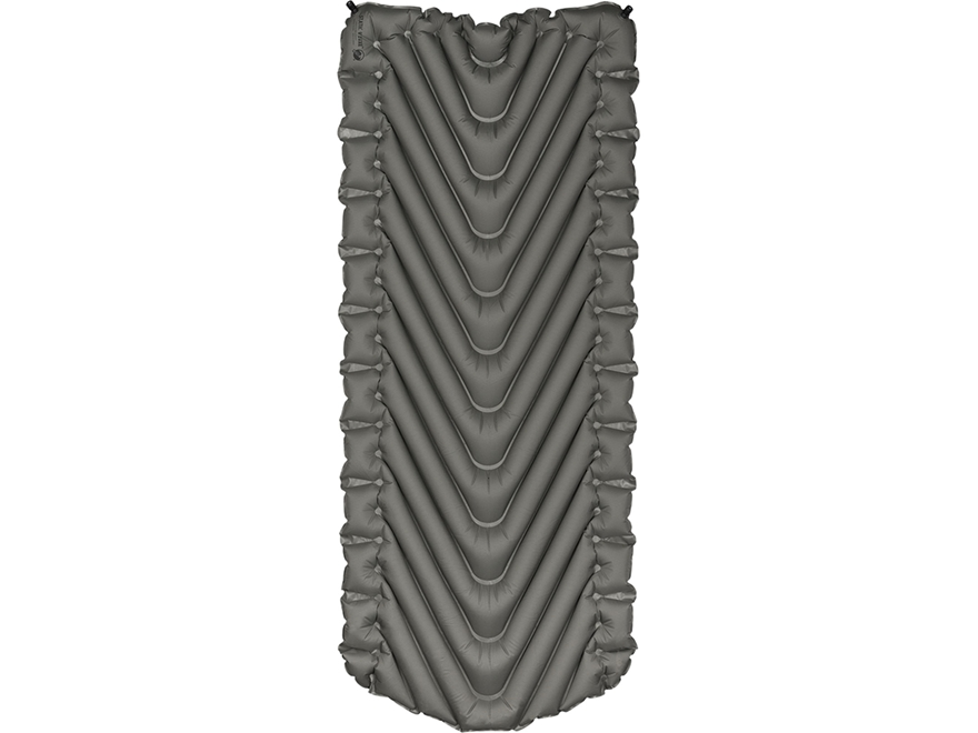 Klymit Static V Luxe Sleeping Pad Polyester Gray and Black