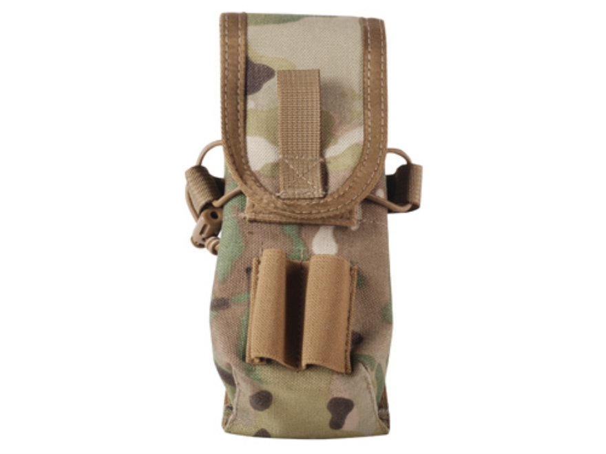 Tactical Tailor MOLLE 5.56 Double Mag Pouch 30 Round Magazine Nylon Multicam Camo