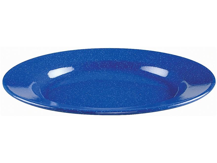 "Coleman 10"" Enamelware Plate Blue"