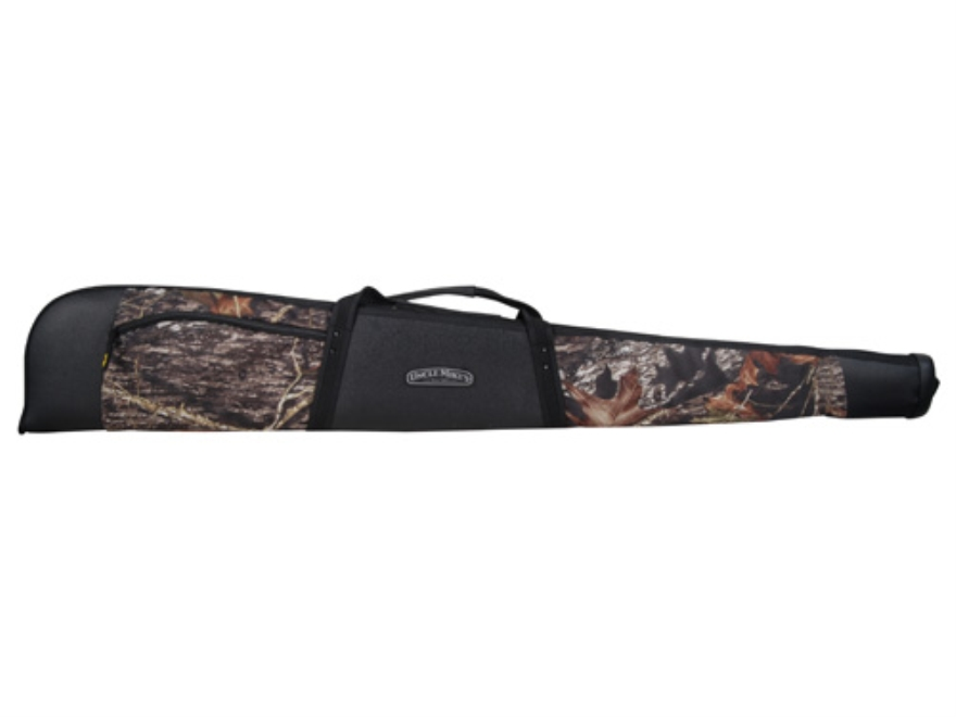 "Uncle Mike's Rhino Rifle  Shotgun Case 52""  600d Polyester  Mossy Oak Break-Up Camo and..."