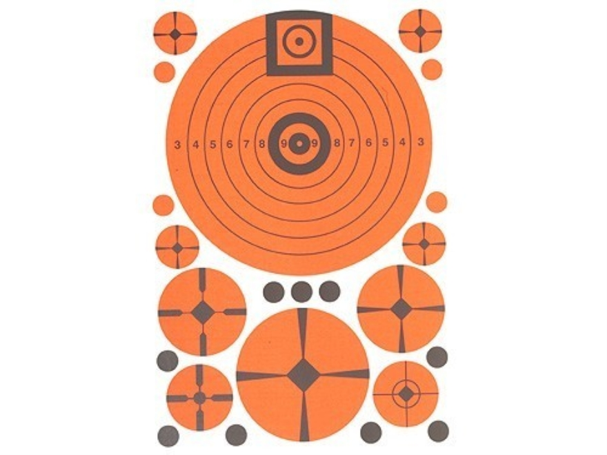 "Lyman Target Match Assortment Sheet 7"" x 10"" Package of 10"