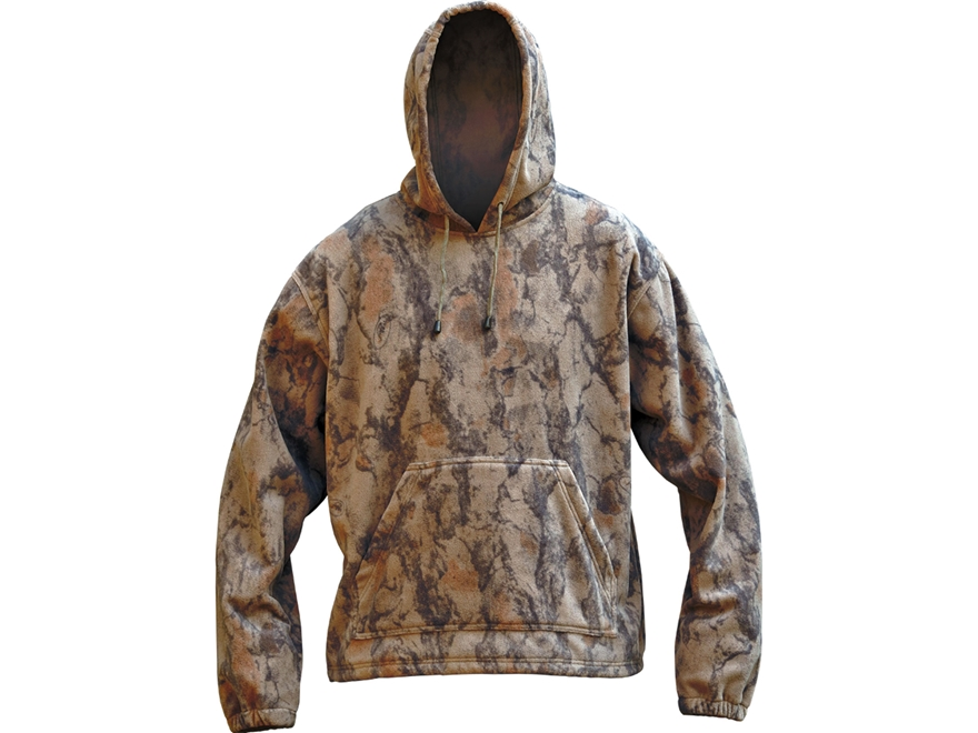 Natural Gear Men's Softshell Fleece Hooded Sweatshirt