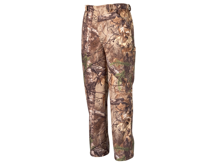 Scent-Lok Men's Vortex Windproof Fleece Pants Polyester Realtree Xtra