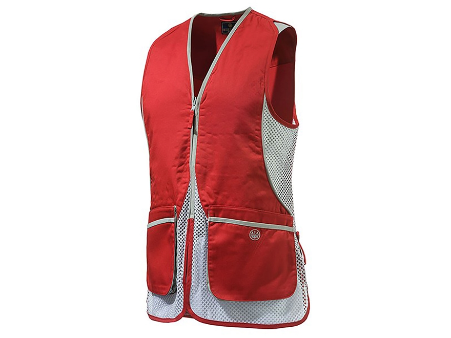 Beretta Women's Silver Pigeon Shooting Vest Polyester and Cotton