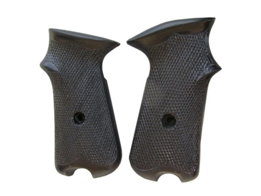 Vintage Gun Grips Haerens Rustkammer 9mm Luger Polymer Black