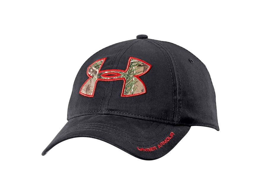 Under Armour Caliber Cap Polyester Black and Realtree Xtra