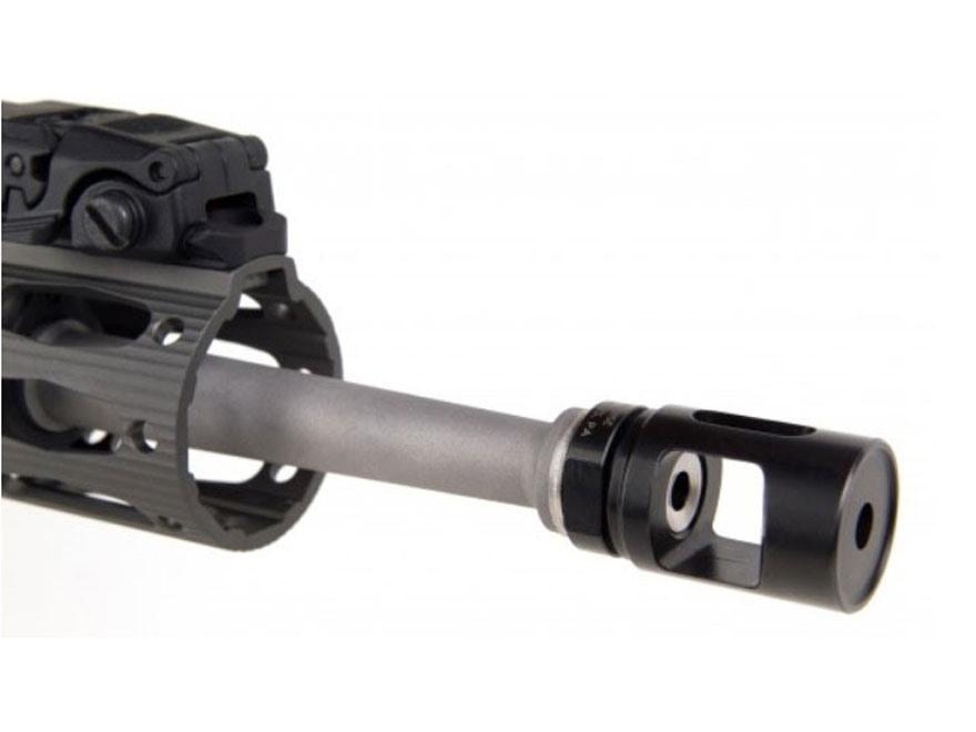"ALG Defense Single Chamber Muzzle Brake AR-15 1/2""-28 Thread Steel Black Nitride"