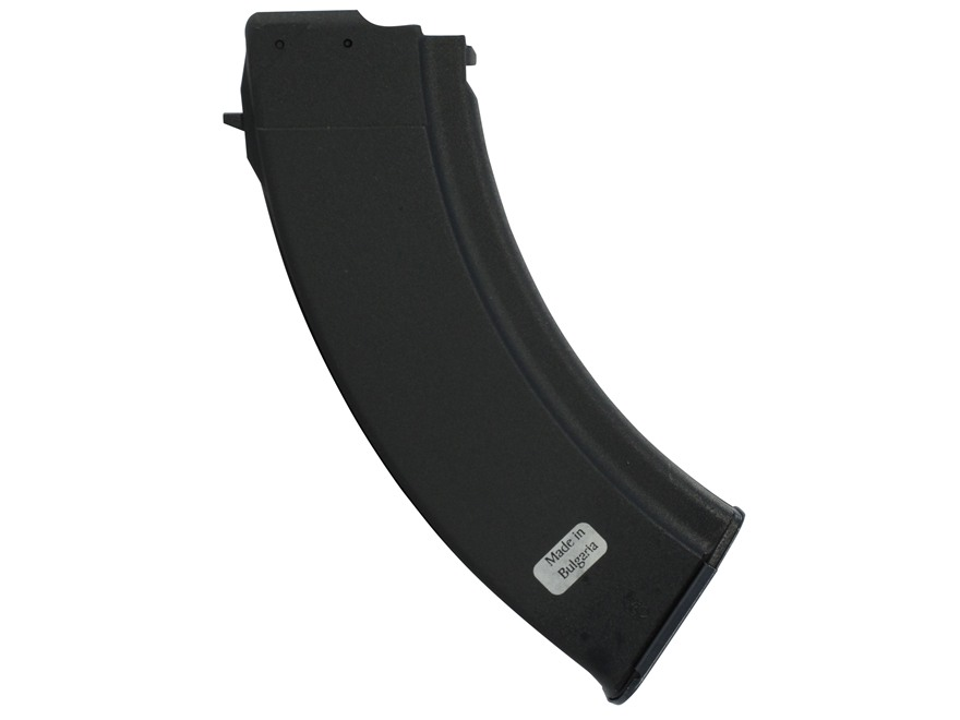 Military Surplus Magazine AK-47 7.62x39mm 30-Round Polymer Black