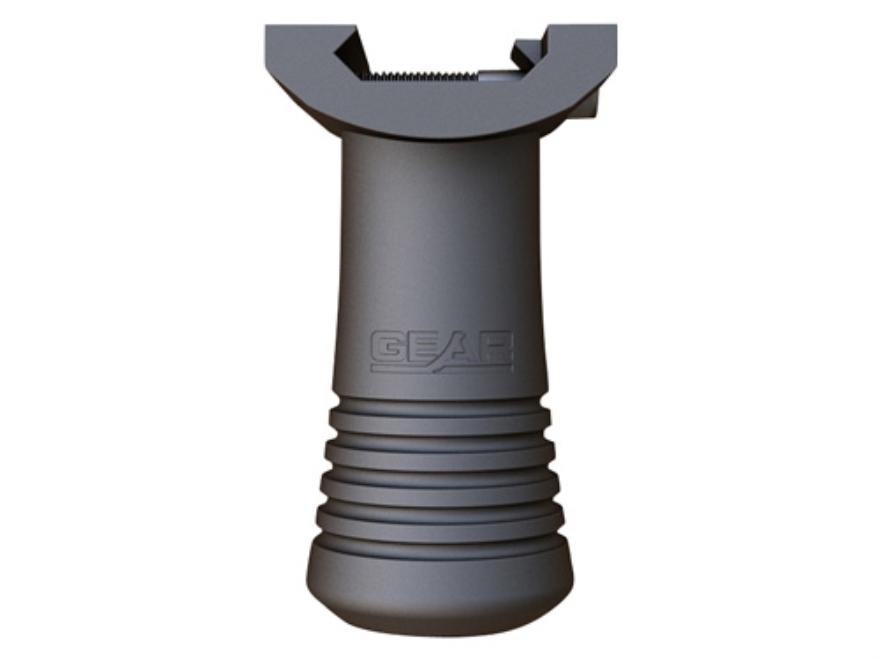 Gear Sector Compact Vertical Forend Grip AR-15 Aluminum Black