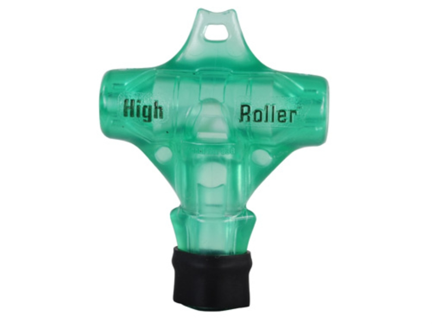 Primos High Roller Whistle Polycarbonate Duck Call Green