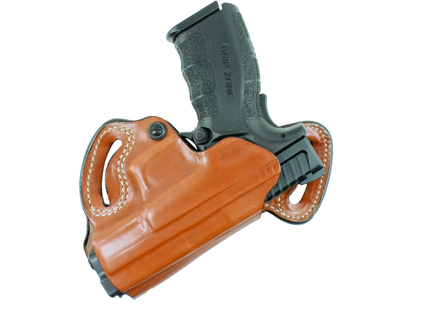 "DeSantis Small of Back Belt Holster Springfield Armory XD 4"", XDM 3.8"" 9mm, 40 S&W, 45 ..."